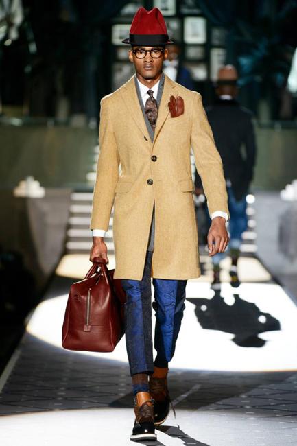 Hombres, colecciones de París y Milán