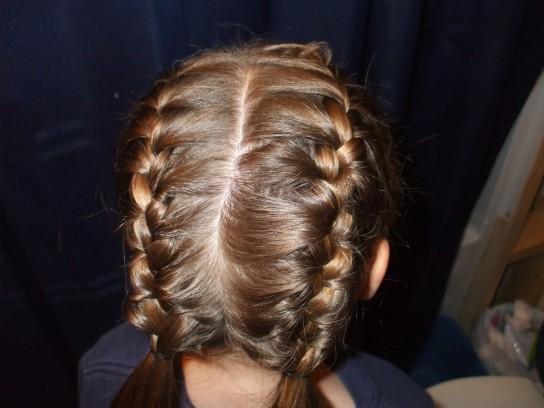 El arte de llevar un peinado con trenzas