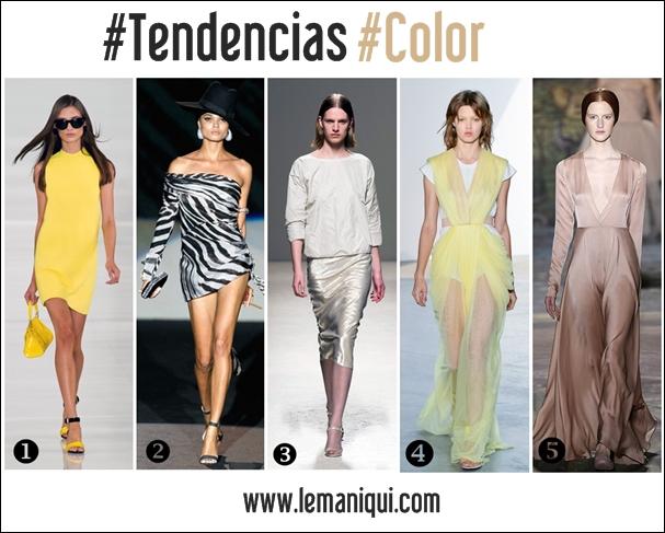 5 Colores que necesitas para Primavera-verano 2014