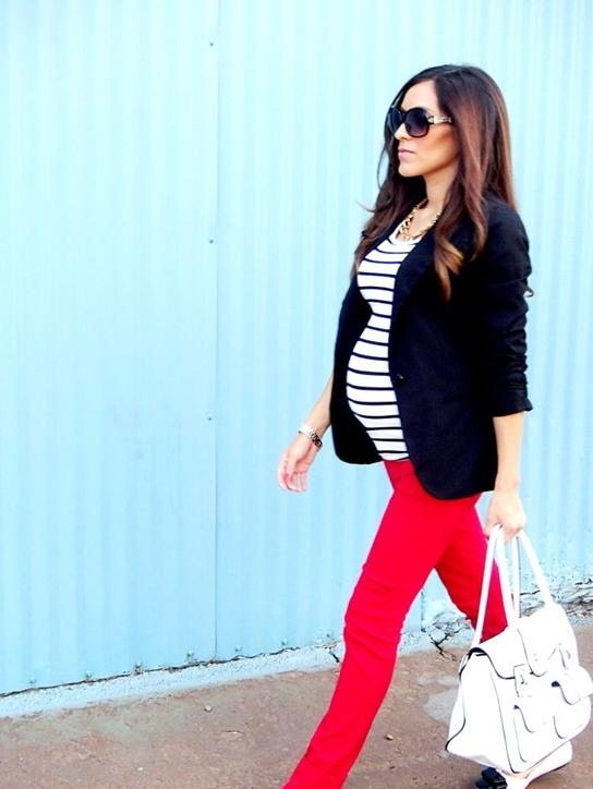 como-vestirse-si-estas-embarazada