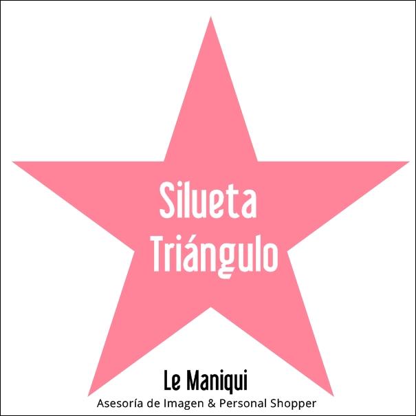 "Look ""silueta triángulo"""