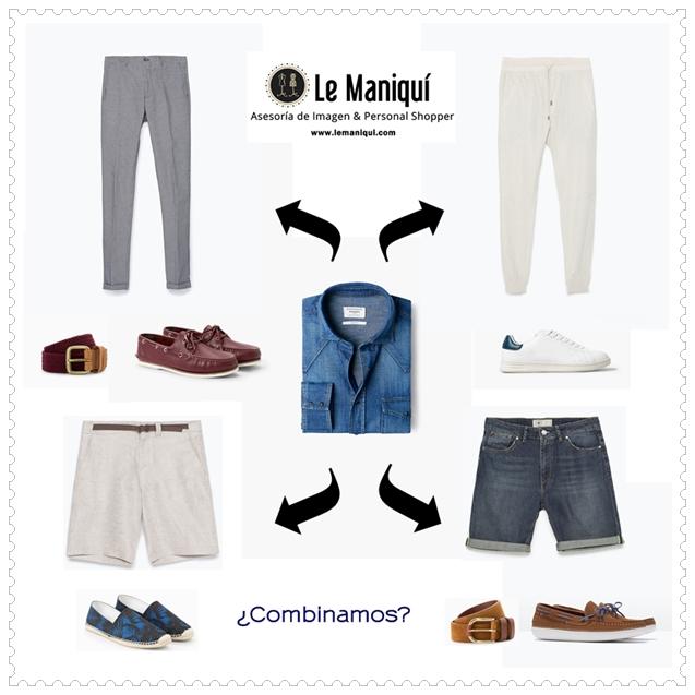 """Camisa vaquera """"Manual de uso"""""""