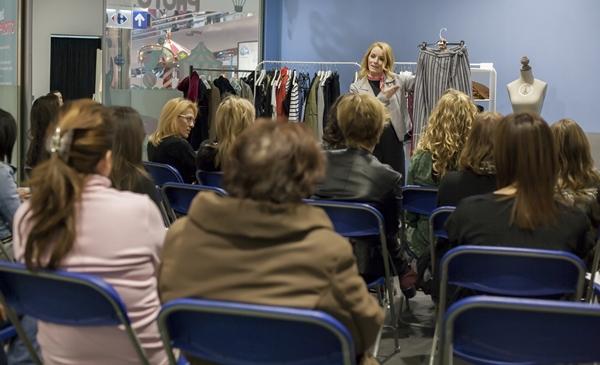 centro-comercial-el-saler- Workshop-tendencias-loles-romero