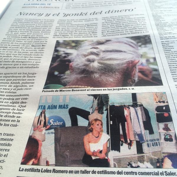 Periodico-El-Mundo-Loles-Romero
