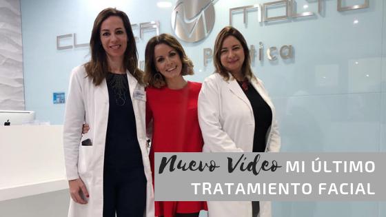 """Vídeo: """"Mi último tratamiento facial"""""""
