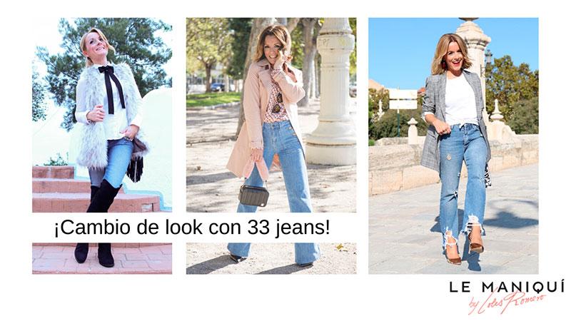 ¡Cambio de look con 33 jeans!